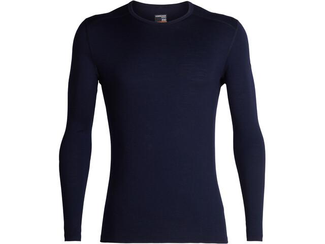 Icebreaker 200 Oasis Koszulka z długim rękawem Mężczyźni, midnight navy
